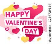 template design banner for... | Shutterstock .eps vector #1289729884