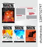 printing magazine  brochure... | Shutterstock .eps vector #1289732797
