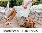 close up details of woman...   Shutterstock . vector #1289770927