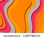 3d abstract background with... | Shutterstock . vector #1289788141