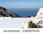 snow on the mountain kisavos ... | Shutterstock . vector #1289819434