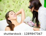 smooth skin under the arms.... | Shutterstock . vector #1289847367