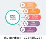 business infographic.... | Shutterstock .eps vector #1289851234