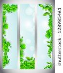 website banner set for st.... | Shutterstock .eps vector #128985461
