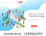 isometric flat vector concept... | Shutterstock .eps vector #1289862694