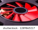 gaming graphics card close up | Shutterstock . vector #1289865217