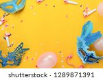 table top view aerial image of... | Shutterstock . vector #1289871391