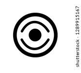 cd disk vector icon on white... | Shutterstock .eps vector #1289915167