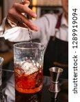 professional bartender... | Shutterstock . vector #1289919094