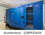 auxiliary diesel generator for... | Shutterstock . vector #1289932654
