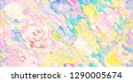 colorful abstract geometric... | Shutterstock . vector #1290005674