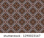 colorful seamless repeating... | Shutterstock . vector #1290023167