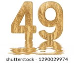 numeral 49  forty nine ... | Shutterstock . vector #1290029974