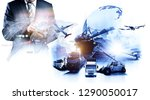 smart technology concept with... | Shutterstock . vector #1290050017