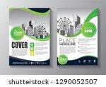 business abstract vector... | Shutterstock .eps vector #1290052507