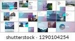 minimal presentations design ... | Shutterstock .eps vector #1290104254