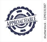 blue approachable distress... | Shutterstock .eps vector #1290131587