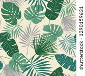 tropical seamless repeat... | Shutterstock .eps vector #1290159631