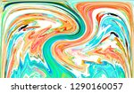 colorful abstract pattern for... | Shutterstock . vector #1290160057