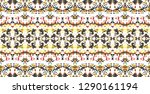 colorful mosaic seamless... | Shutterstock . vector #1290161194