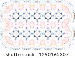 colorful mosaic pattern for... | Shutterstock . vector #1290165307
