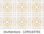 colorful seamless pattern for... | Shutterstock . vector #1290165781