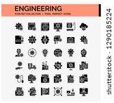 engineering icons set. ui pixel ...