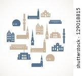 Landmark Icons   Stockholm