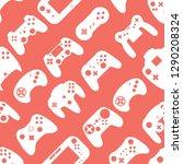 video game controller...   Shutterstock .eps vector #1290208324
