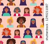 international women's day....   Shutterstock .eps vector #1290211087