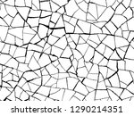 the cracks texture white and... | Shutterstock .eps vector #1290214351