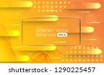 minimal colorful geometric... | Shutterstock .eps vector #1290225457
