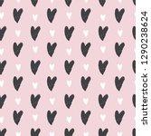 hand drawn seamless pattern... | Shutterstock .eps vector #1290238624