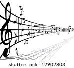 musical design elements from... | Shutterstock .eps vector #12902803