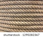 rope tied to the pole    image | Shutterstock . vector #1290282367