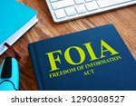 foia freedom of information act ... | Shutterstock . vector #1290308527
