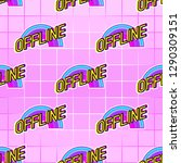 Seamless Pattern With  Offline  ...