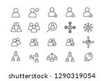 people set line icon set with... | Shutterstock .eps vector #1290319054