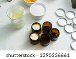 cosmetic lotion cream diy do it ... | Shutterstock . vector #1290336661