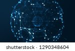 internet technology network and ... | Shutterstock . vector #1290348604