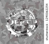 depth on grey camouflaged... | Shutterstock .eps vector #1290362254