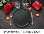 valentine's day or birthday... | Shutterstock . vector #1290391234