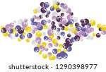 feminine floral pattern with...   Shutterstock .eps vector #1290398977