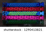 bracelets from paracord | Shutterstock . vector #1290413821