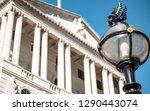 bank of england  london. street ... | Shutterstock . vector #1290443074