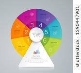 infographics design vector and... | Shutterstock .eps vector #1290447901