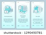 nursing education onboarding... | Shutterstock .eps vector #1290450781