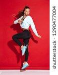 fll length portrait of a... | Shutterstock . vector #1290477004