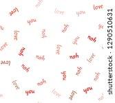 light red vector seamless...   Shutterstock .eps vector #1290510631