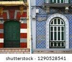 revival windows. city of... | Shutterstock . vector #1290528541